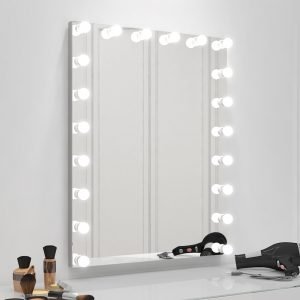 Beautiful Hollywood makeup LED vanity mirror.