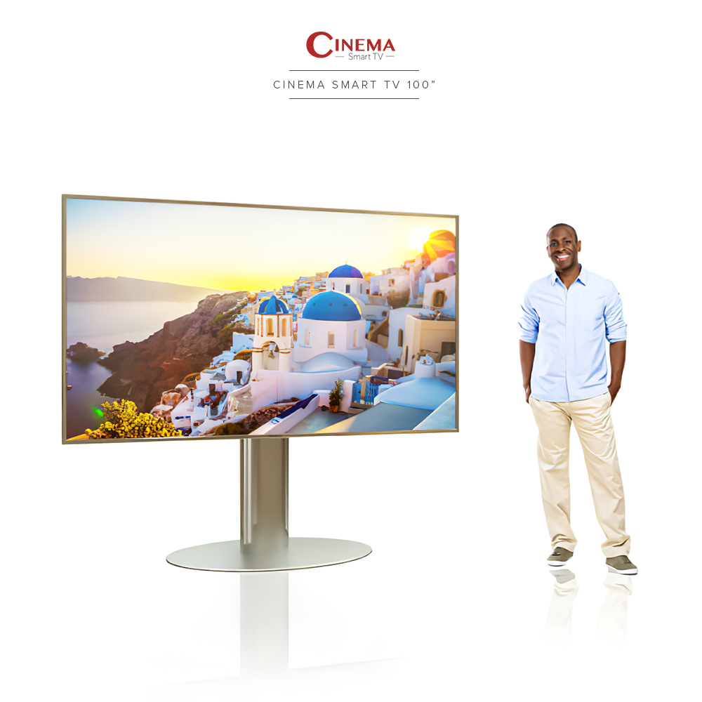 Big cinema smart TV for you and your family's home entertainment.