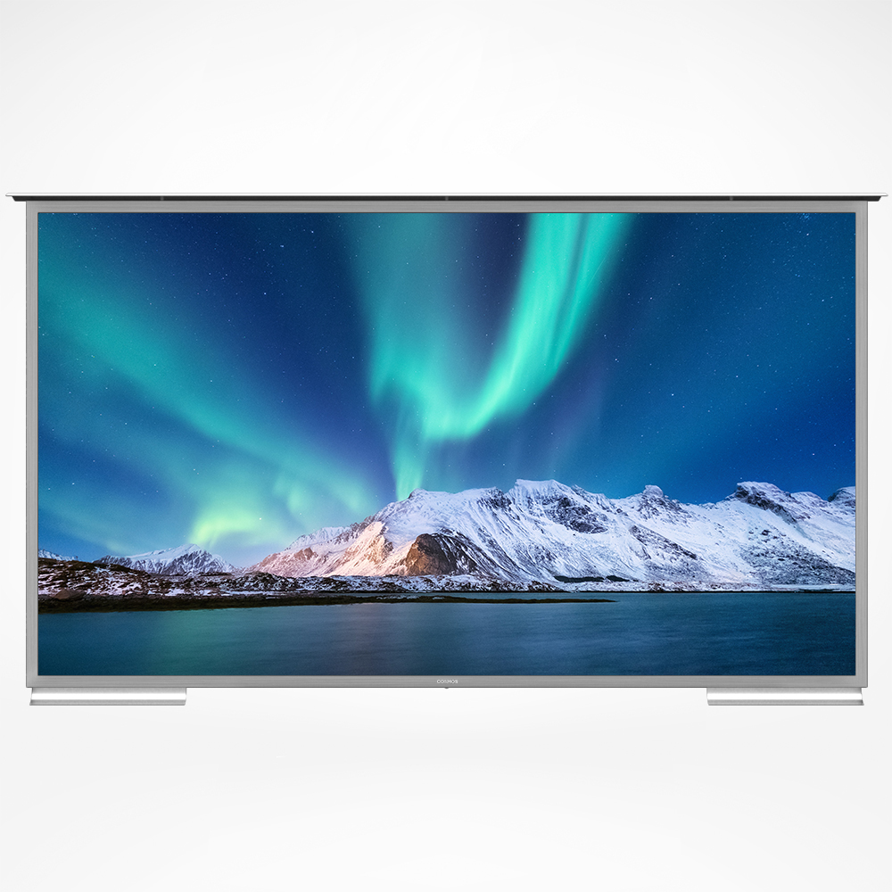 Our biggest outdoor TV with amazing 4K high-def resolution powered with the latest Android.