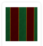 Neoprene Cover – Green and Red Stripes (COSNC-40-STRGreenRed)