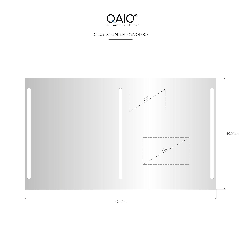"QAIO 140cm wide x 80cm high, with 15.6""  TV (QAIO11003)"